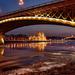 a Margit híd lábánál