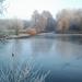 Téli Hármashegyi-tó.
