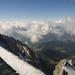 Hó, hegy, felhő, nyár