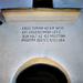 Hármasfalu (Székelyszentistván), a Református templom felirata,