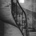 lépcsőház fényfolttal