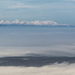 A Magas Tátra a ködös Bükkből fotózva