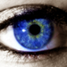 kék szem