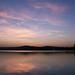 Naplemente a Velencei-tónál