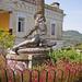 Akhilleusz szobor - Korfu