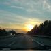 Naplemete az úton free