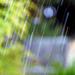 Szökőkút vízcseppek esése