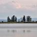 Szikes tó Táj