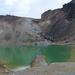 Tongariro Egyik smaragd tó