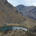 Tongariro Egyik tavacska a csúcs közelében