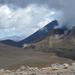 Tongariro Legmagasabb pont közelében