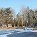Sződligeti Horgásztó és házikók télen