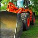 Narancssárga munkagép