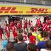 Ferrari kerékcserére várva