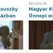 Tudósítás a magyar kult napi rendezyényről 2013