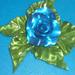 Kék karamell rózsa