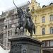 Zágráb 4 - Josip Jelasics bán lovasszobra