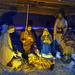 Bécs - Bécs karácsony városháza Betlehem