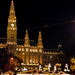 Bécs - Wiener christkindlmarkt főbejárat