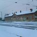 Tél az állomáson.