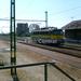 V 43-320-as mozdony az állomáson.