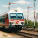 Egy szintén 1999-ben készült képen jól látható az állomáson átha