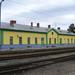 Nagycenk állomás 2008.-ban felújított felvételi épülete.