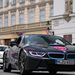 BMW i8 -- Mercedes-Benz CLS 63 AMG