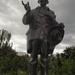 Babits Mihály szobra a Vérmezőn.