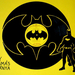 batman silhouette vinyl records art by tamás kánya