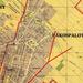 Az Andrássy út meghosszabbításának térképe 1940