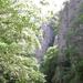 Széchenyi szikla oldalfa a völgytalp felől fotózva