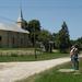414 Vízvétel a görög katolikus templom előtt, Tornabarakony