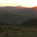 320 Vágáshuta, naplemente a Kispartról