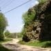 357 Bózsvai-szikla, Bózsva falu szélén