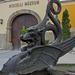 Sárkány szobor - Kiscelli Múzeum, III Kiscelli u