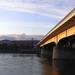 Napsütötte Árpád híd