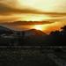 májusi naplemente