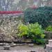 Margitsziget, vízesés helye októberben