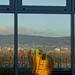 szellemkép - játszótér, Duna , Budai hegyek, adótorony