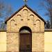 Stáció a fóti templomkertben