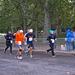 Maraton - Nyolcvan évesen a célban (sárga pólóban)