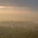 köd napkeltekor buda felett