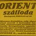 OrientSzalloda-RakocziUt42-1913Junius-AzEstHirdetes