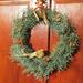Karácsonyi ajtódíszek/zord idők blog