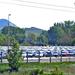 Esztergom: a Suzuki gyár udvara