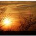 Csíkos naplemente
