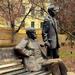 Bródy Sándor és Gárdonyi Géza szobra - Eger