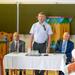 Dusnoki Csaba megnyitóbeszédet mond a konferencián