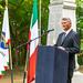 Dusnoki Csaba (Dunapataj polgármestere) beszédet mond az emlékün